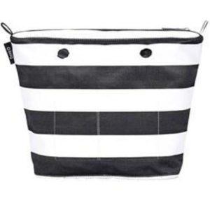 OBag Mini NYC Stripes Black Inner