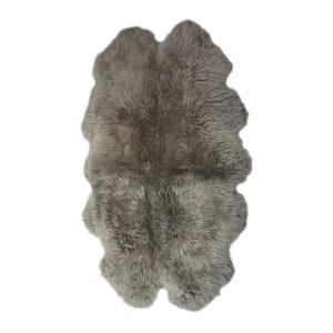 Silky Quad Sheepskin Rug Vole