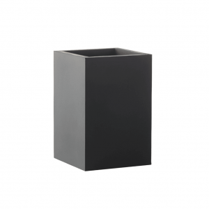 Sej Medium Tall Black Rubber Pot