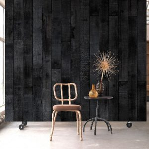 NLXL Burnt Wood Wallpaper