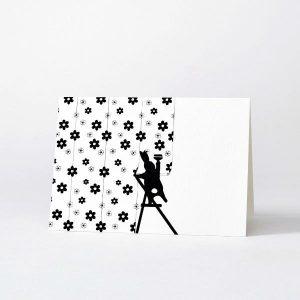 Wallpapering Rabbit Card