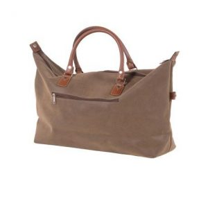 Large Brown Travel Bag