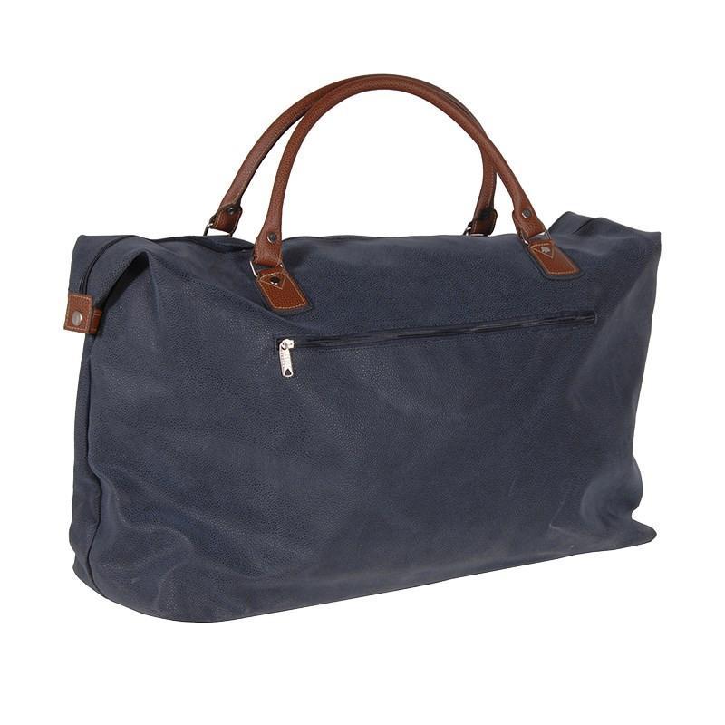 Large Blue/Tan – Travel Bag
