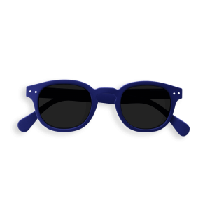 Izipizi #Junior Sunglasses Navy Blue with Soft Grey Lenses