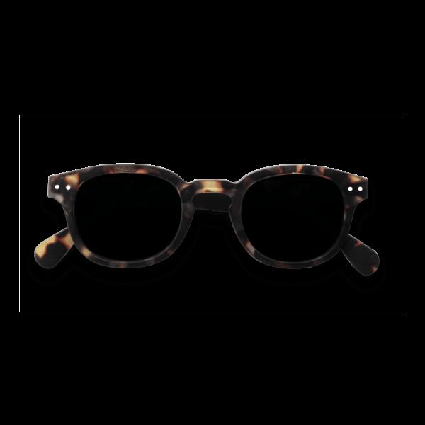 Izipizi #Junior Sunglasses Tortoise Grey with Soft Grey Lenses