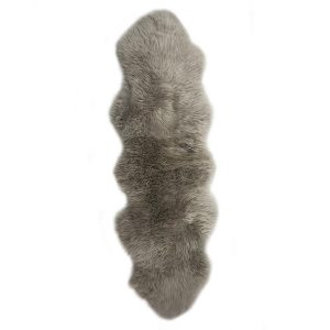 Silky Double Sheepskin Rug Vole