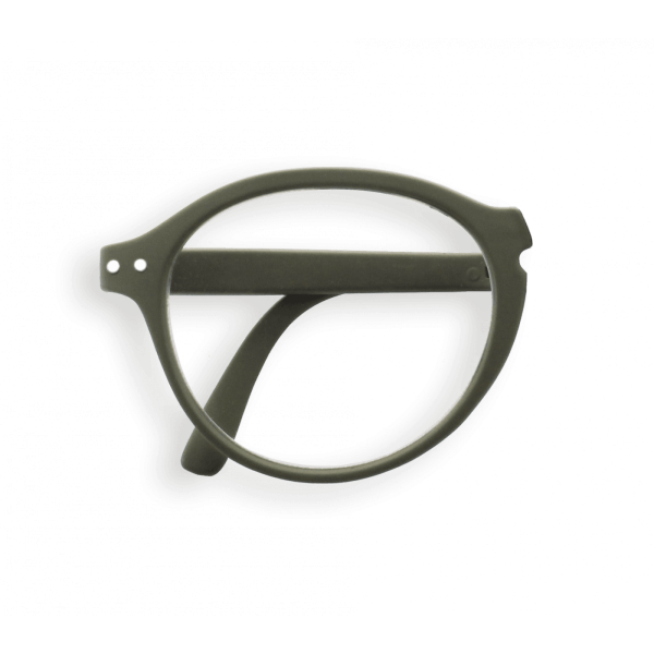 Izipizi #F Foldable Frame Reading Glasses (Spectacles) in Khaki
