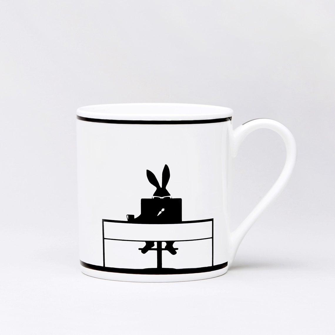 Working Rabbit Mug