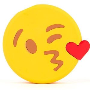 Kissing Wink Moji Power Bank