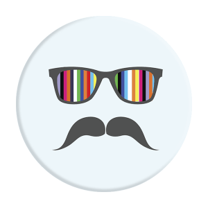 Phone Pop Socket Moustache