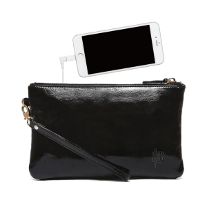 Pocket Charger Pocket Bag Black Patent