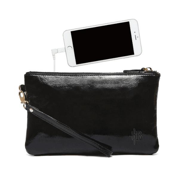Pocket Charger Pocket Bag Black Patent