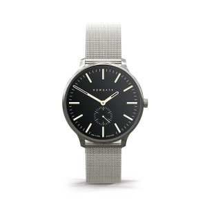 Newgate Blip Reverse Dial Watch with Manchester Mesh Strap